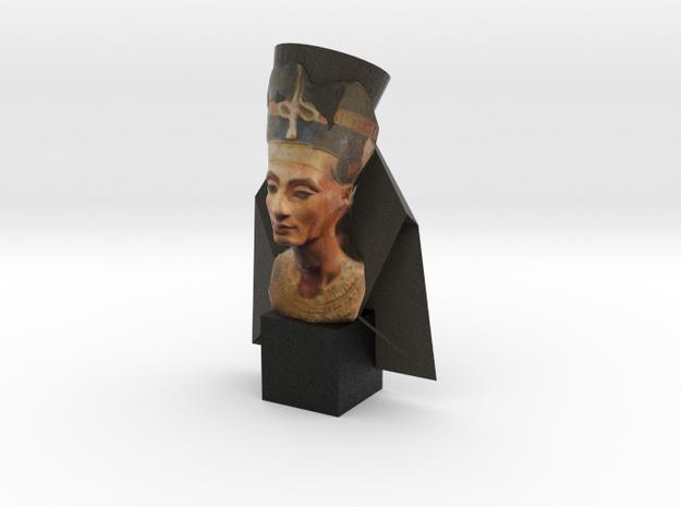 Nefertete  in Full Color Sandstone