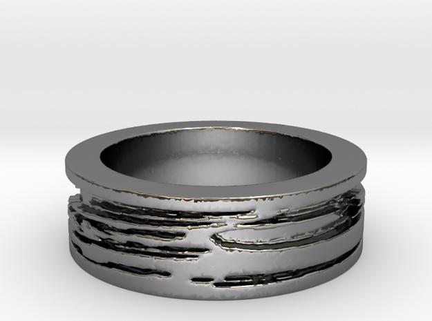 Gersemi Ring Ring Size 7 in Premium Silver