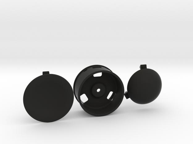 MT4 Wheel in Black Natural Versatile Plastic