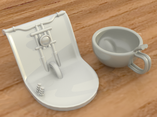 Harley Cup - Part two of a two pieces set 3d printed