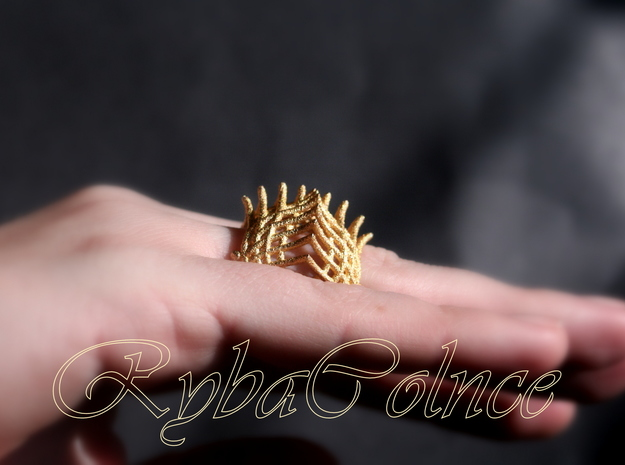 Ring The Iroquois\ knuckle / size 6 US    (16,5 mm