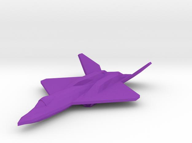 YF-23 Blackwidow II 1/350 in Purple Processed Versatile Plastic