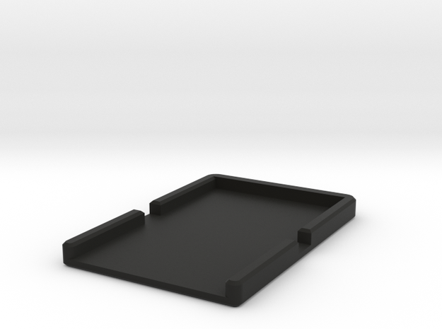 Minimalist Wallet in Black Natural Versatile Plastic