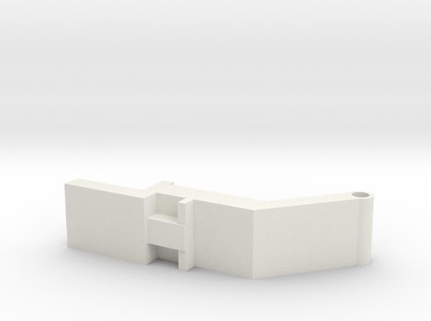 Bunn-toggle in White Natural Versatile Plastic