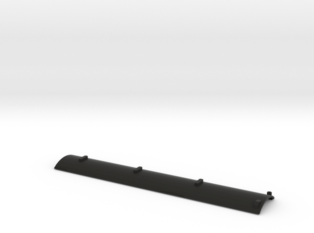 CNR - D-1 Gas-Electric Car Roof (HO Scale) in Black Natural Versatile Plastic