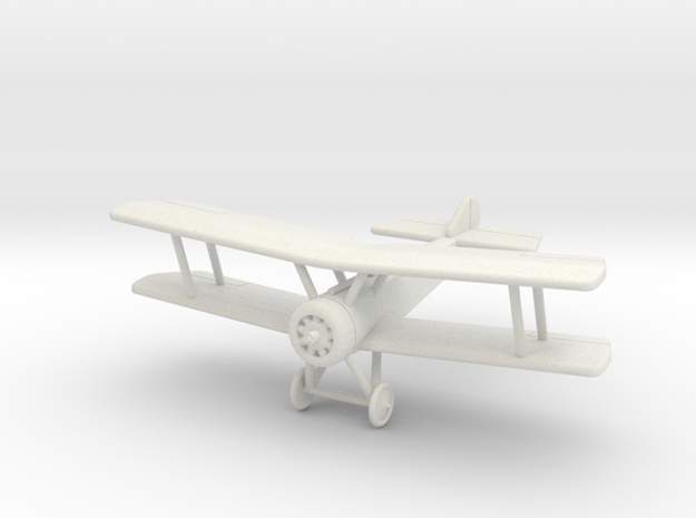 GWA02 Sopwith Pup (1/144) in White Natural Versatile Plastic