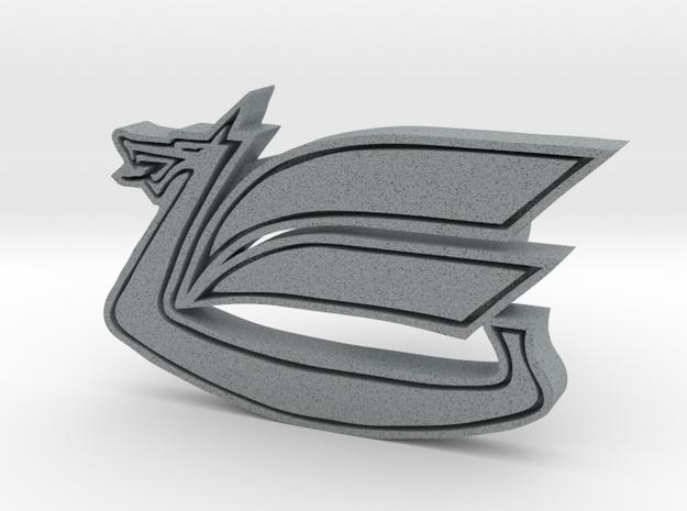 Celica Dragon Cufflink in Polished Metallic Plastic