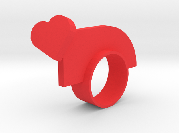 Lovenotwarring in Red Strong & Flexible Polished