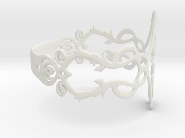 Grabado2 in White Strong & Flexible