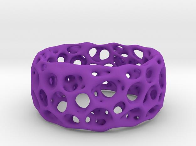 Frohr Design Radiolaria XL in Purple Processed Versatile Plastic