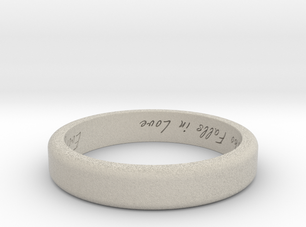 Engraved Standard Sized ring