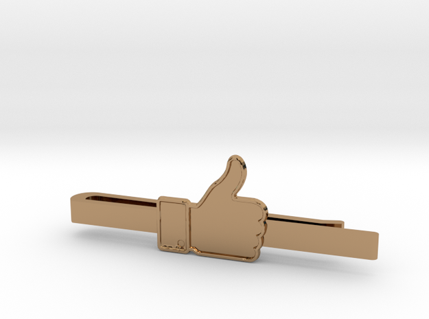 THUMBS UP in Polished Brass