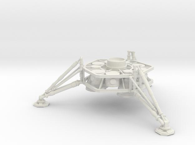 1/144 NASA/JPL ARES MARS DESCENT STAGE in White Natural Versatile Plastic