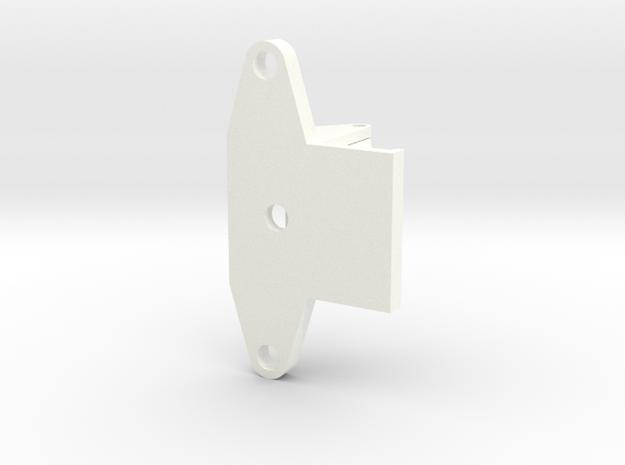 HOOK-B in White Processed Versatile Plastic