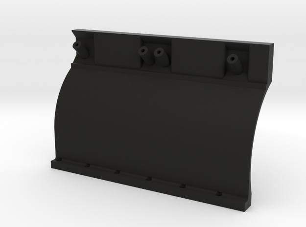 22R 1-10 motor Left Block half in Black Natural Versatile Plastic