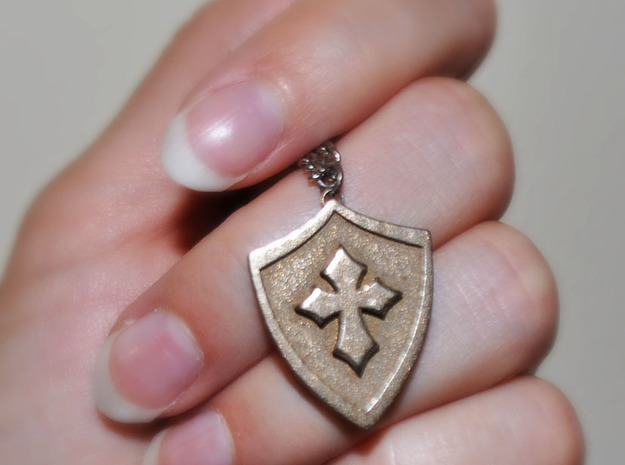 Cross Shield Pendant
