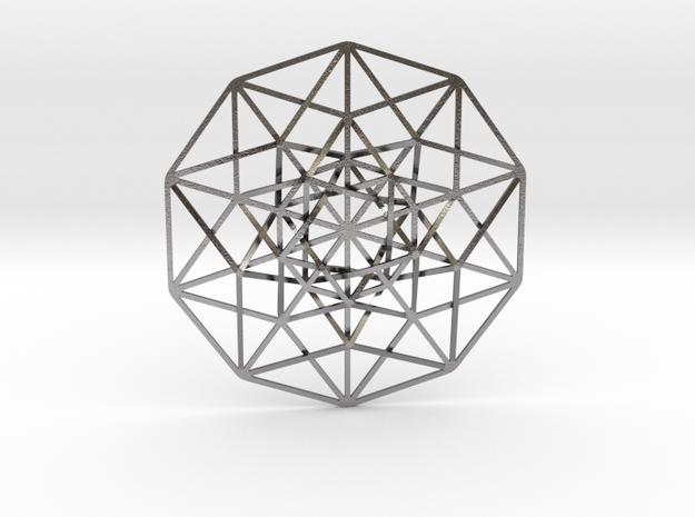 5D Hypercube 3d printed