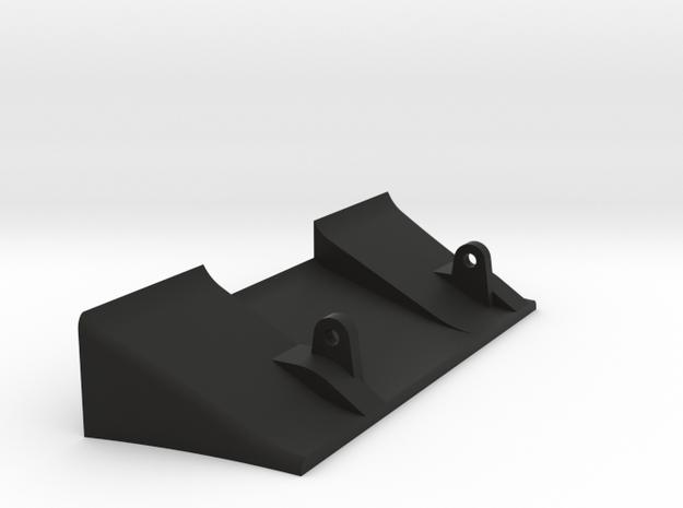X1 diffuser V2 in Black Natural Versatile Plastic