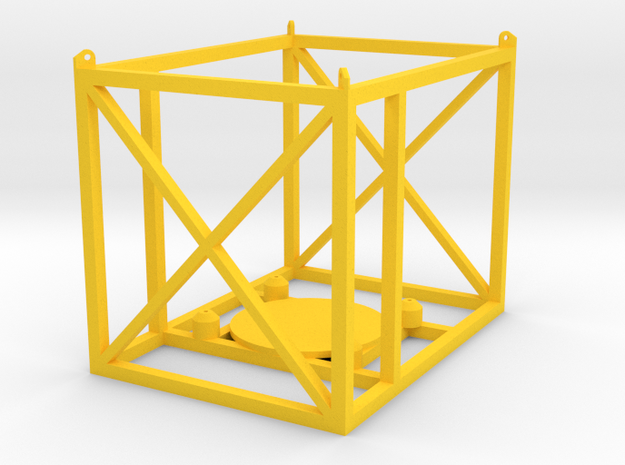 Frame1 in Yellow Strong & Flexible Polished