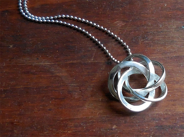 Pentacycle in Polished Silver