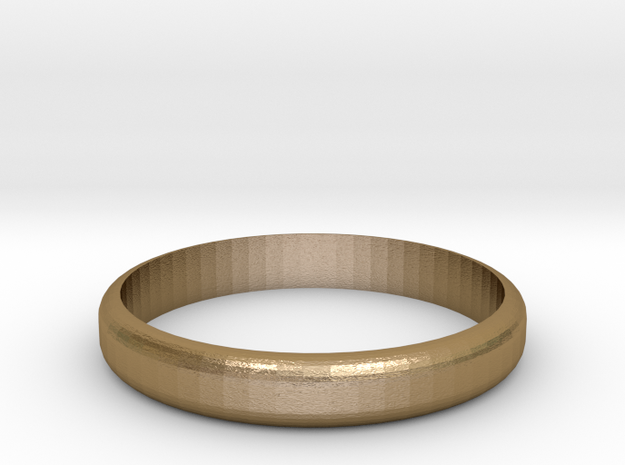ring in Polished Gold Steel