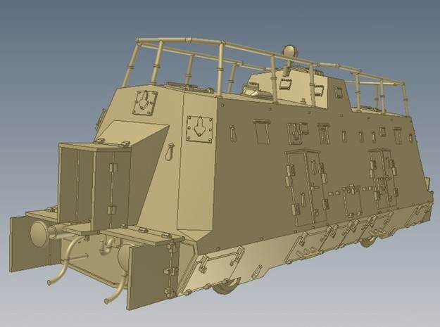 1-72 K-Wagen For BP-42 3d printed