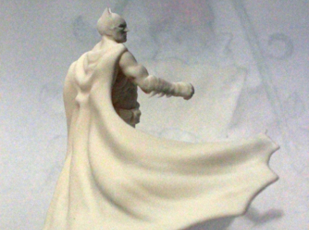 Batman 3d printed White White & strong model printed& strong model printedWhite & strong model printed