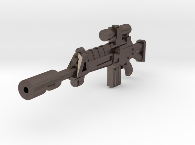 Assault Rifle Sharpshooter in Stainless Steel