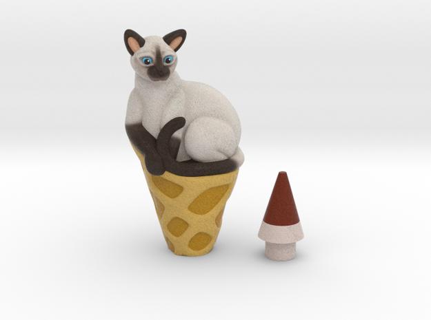 Cookie icecream in Full Color Sandstone