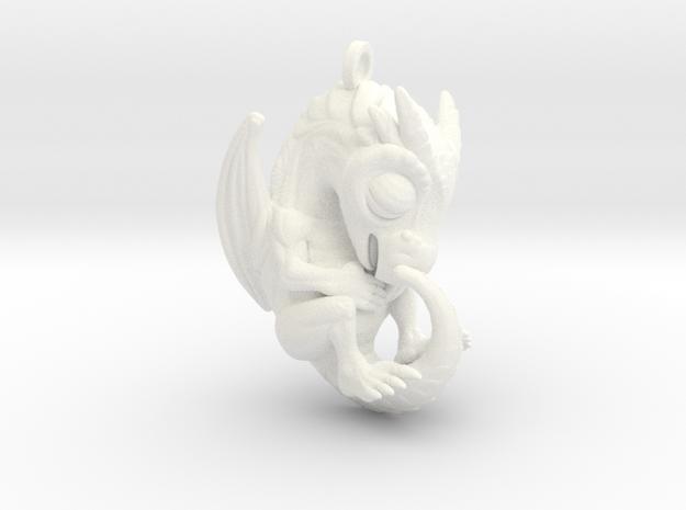 Plastic Baby Dragon Pendant