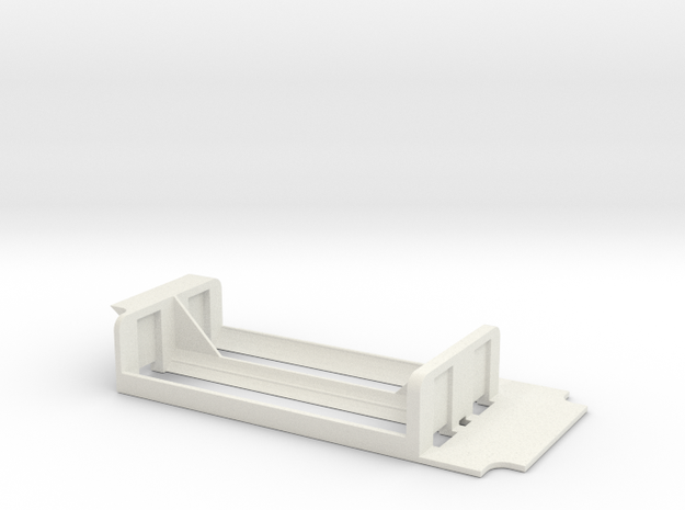 18650 parallel sled for the 1590g in White Strong & Flexible