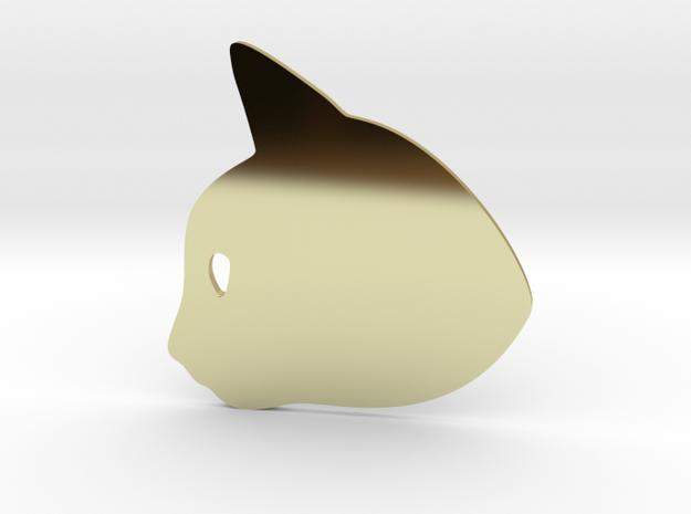 Kitten #2 in 18k Gold Plated