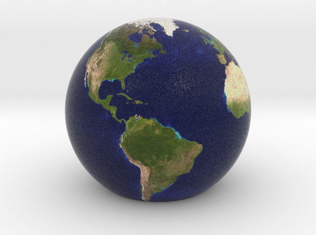 Game Version (has flat bottom) of Earth