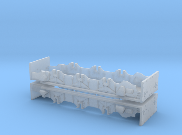 N Class 13 Chassis in Smooth Fine Detail Plastic