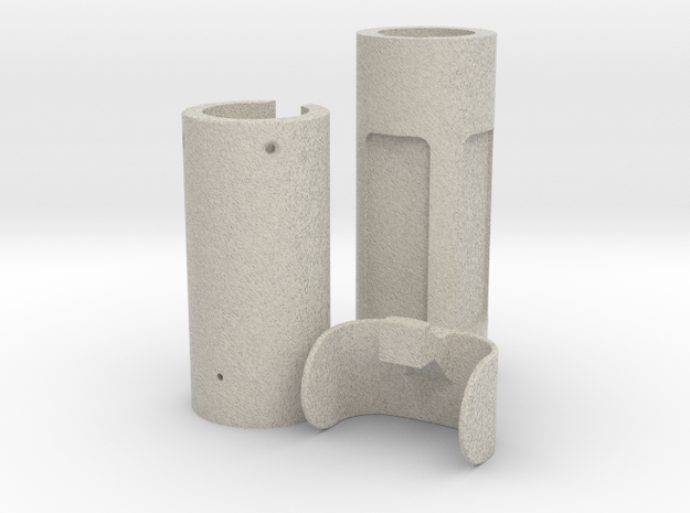 Yoda lightsaber sound and light Parts 2/2 in Natural Sandstone