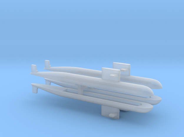 PLA[N] 093 Submarine x 4, 1/3000