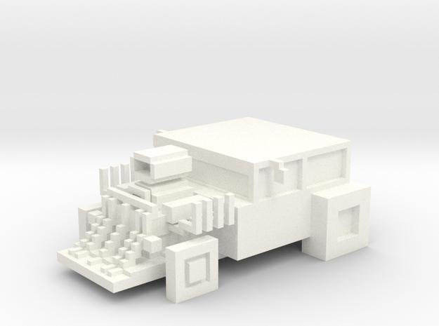 Smashy-road-vehicle-the-beast in White Processed Versatile Plastic