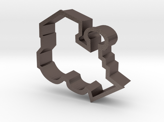 Train Engine Cookie Cutter 3d printed