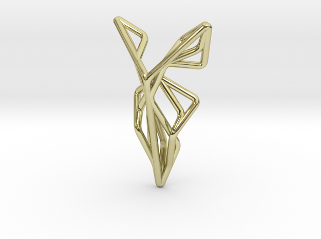 A-LINE Flying F.01 Pendant in 18k Gold Plated