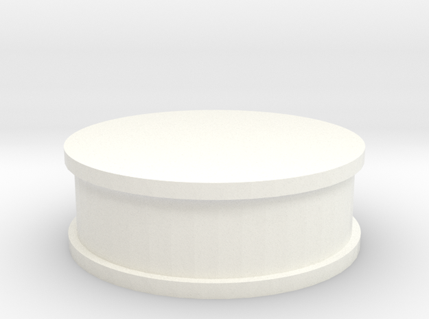22R 1-10 motor Air Breather in White Processed Versatile Plastic