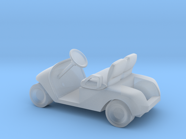 N scale (1:160) Modern Golf Cart