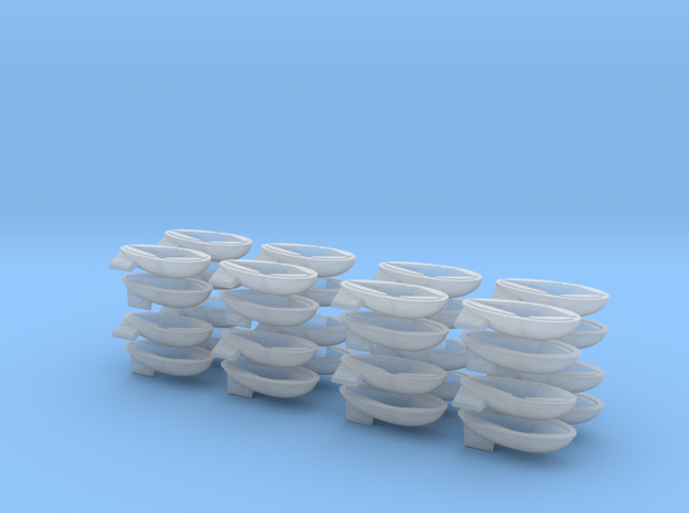 Barrage Balloons in Smooth Fine Detail Plastic