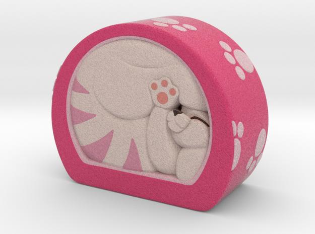 Pink roll cake in Full Color Sandstone
