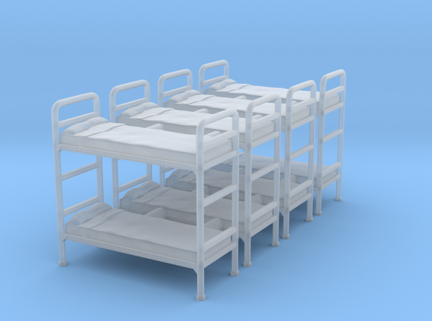 Bunk bed 01.Scale HO (1:87)