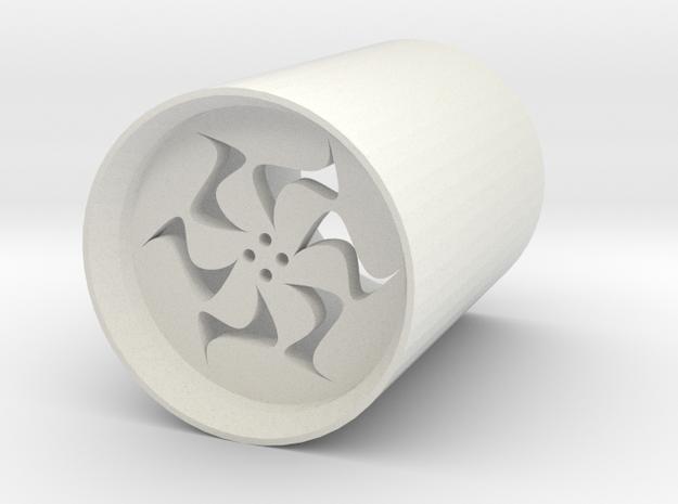 safety blade plug v4 for led lightsabers in White Natural Versatile Plastic