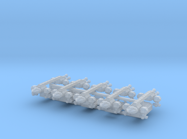 Spacer1999 5 Eagles w/ Separate Pods 3d printed