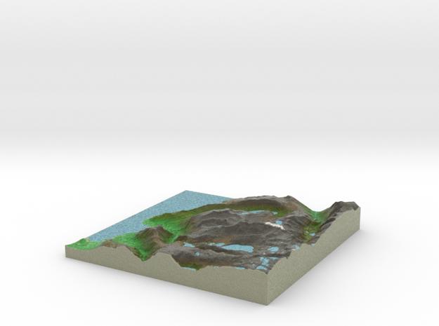 Terrafab generated model Sun Nov 15 2015 21:13:51  in Full Color Sandstone