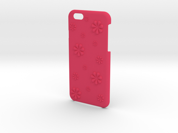 Flower iPhone6/6S case for 4.7inch in Pink Processed Versatile Plastic