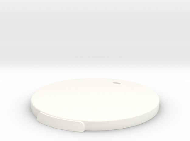 Base V2  in White Strong & Flexible Polished