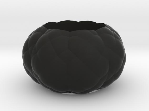 Alien Egg Ring Beta 20mm in Black Natural Versatile Plastic